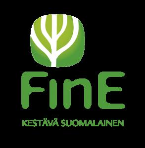 Viime kesänä lanseerattu uusi FinE-logo