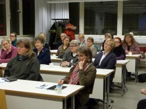 Puutarhailta 13.1.2014 teemalla 'Jäseneltä jäsenelle ja yliopistonäkökulmaa'.