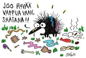 © Milla Paloniemi (norpatti) / kiroilevasiili.fi